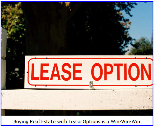 Lease Options sign pic