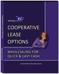 Cooperative lease options